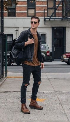 Mens fashion casual - 25 Casual Fall Outfit to Copy ASAP for Men – Mens fashion casual Winter Outfits Men, Stylish Mens Outfits, Casual Fall Outfits, Men Casual, Casual Blazer, Smart Casual, Summer Outfits, Men Looks, Best Casual Shirts