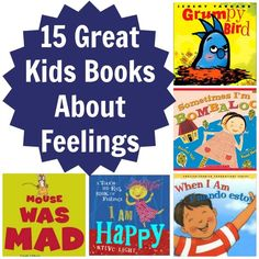 Books about Feelings. Can't wait to work with my toddlers more on learning about their feelings so they can start understanding themselves more. Source: Babble.com