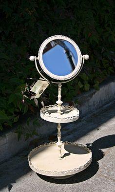 Flower Bouquet Bathroom Mirror - Original: $65 Sale $32