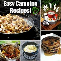 Camping Recipes and Cooking Tips! Perfect for my first camping trip next weekend!