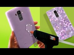 Smooth Hot Glue Phone Case - Choose your colour Hot Glue Phone Case, Make A Phone Case, Homemade Phone Cases, Diy Wallet, Iphone Hacks, Living At Home, Easy Diy Crafts, Hacks Diy, Smooth