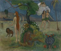 Paul Gauguin - Adam and Eve or Paradise Lost, 1890.  Professional Artist is the foremost business magazine for visual artists. Visit ProfessionalArtistMag.com.- www.professionalartistmag.com