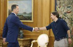 Madrid, 28 jul (EFE).- El Rey ha abierto hoy la última jornada de su ronda de consultas políticas al recibir al presidente de Ciudadanos,…