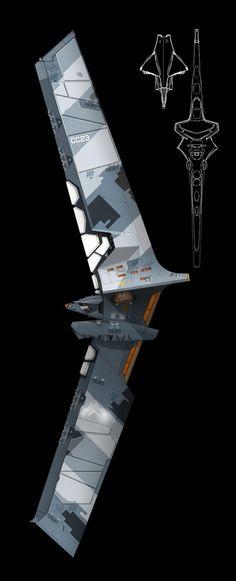concept spaceships