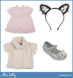 A bit of glam for a little kitty #kidsfashion #kidslooks