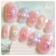 us -&nbspnail art stickers Resources and Information. Asian Nail Art, Asian Nails, Glam Nails, Beauty Nails, Cute Nails, Essie, Kawaii Nail Art, Japan Nail, Valentine Nail Art