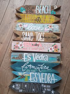 Backyard Signs, Patio Signs, Outdoor Signs, Driftwood Crafts, Seashell Crafts, Diy Pallet Wall, Directional Signs, Diy Wood Signs, Ibiza Fashion