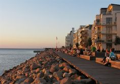 Malmo, sweden - a sweet 3 miles from the Danish coast, oh memories how I miss you Scandanavia!