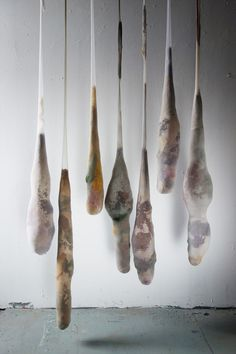 """Natural Dye """"Pendulums"""" by Alex Wolkowicz of Cave Collective"""