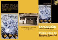 """Exposición """"Gabriel García Márquez. Medio siglo de Cien años de soledad"""" en Libros Alcaná"""