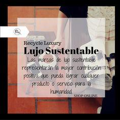 #Sustainable #luxury Join the change! #EcoFashion http://blgs.co/3Setb8