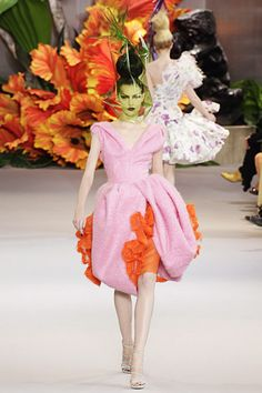 Photo of Christian Dior Fall 2010 Couture for fans of Dior. Christian Dior Fall 2010 Couture runway show.