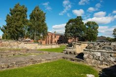 Ruins of St Mary's Catholic church, Oslo, Norway. Built 1050AD, From 1314 was Chancellor of Norway. Was the Royal Chapel in Middle Ages, was attacked & burnt by Swedish in 1523. After the Reformation it was so ruined it was demolished in 1542.