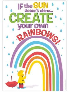 """Encourage, inspire and motivate your students with colorful posters that create an exciting learning environment! Poster measures 13"""" x 19"""".   #growthmindset #teacher #teachersupplies #classroominspo #classroomsupplies #classroomtheme #classroomposter #inspirationalposters"""