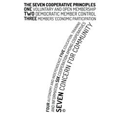 The 7 Principles of a Cooperative Cooperative Principle, Education Information, Agriculture, Cameras, Flare, Gardening, Letters, Camera, Lawn And Garden