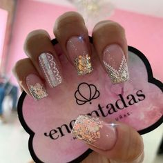 Fabulous Nails, Gorgeous Nails, Pretty Nails, Dope Nails, My Nails, Sinaloa Nails, Butterfly Nail Designs, Nail Art Designs Videos, Nail Candy