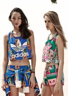 obsessed with the new spring 2014 adidas collection.
