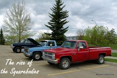 MSCC looks at the rise of the square-body Chevy trucks. READ MORE: http://mystarcollectorcar.com/jim-rockfords-dad-was-a-pion…/