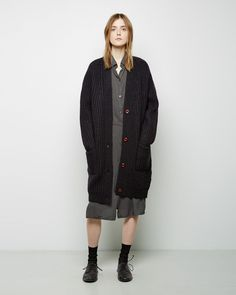 La Garçonne Moderne Didion Chunky Cardigan