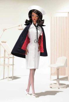 I really want this. Vintage nurse Barbie