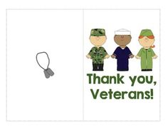 Free Veteran's Day CardBlank insideIncludes color and black and white versions.Great for Veteran's Day, Memorial Day, 4th of July, Flag Day, and Valentine's Day. Enjoy!