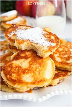 Yogurt Pancakes, Sweets Cake, Dinner Dishes, Food Inspiration, Sweet Recipes, Nom Nom, Food And Drink, Cooking Recipes, Lunch