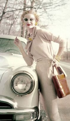 Sunny Harnett, photo by Richard Rutledge, Vogue 1954 | flickr skorver1