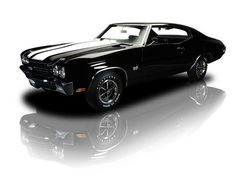 I will own a Chevrolet Chevelle SS 454 big block with black interior and all black exterior (NO racing stripe)
