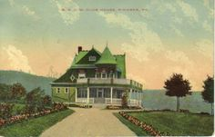 The Berwind family members never did live in Windber so they used the spacious club house for their social events and entertainment. Mining Company, Coal Mining, My Town, Social Events, Newport Beach, Somerset, East Coast, Pennsylvania, Vintage Photos