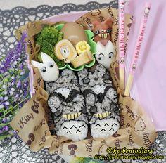 Bento#July16~Totoro Sushi