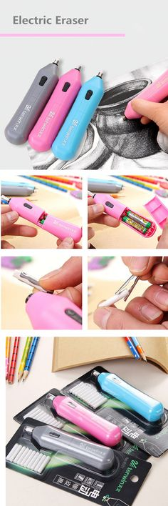 Electric eraser automatically rotate super-saving like skin