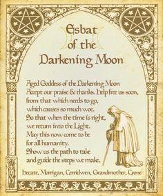 ✯..Esbat of the Darkening Moon..✯