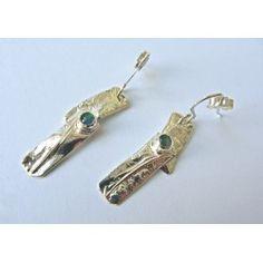 Strata drop earrings by Sally Ratcliffe jewellery