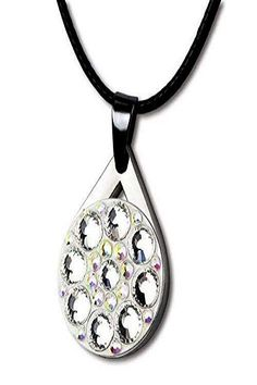 Bling crystal golf markers are not only shining on you neck ffa3ec11de94