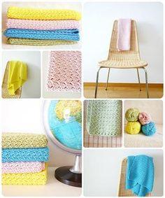 Modern Crochet Baby Blankets