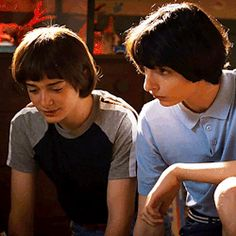 mike x will Stranger Things Gifts, Finn Stranger Things, I Have No Friends, Will Byers, Her Smile, Best Shows Ever, Funny Faces, Wattpad, Future Husband