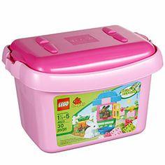 ThinkGeek :: LEGO® DUPLO® Bricks & More Pink Brick Box