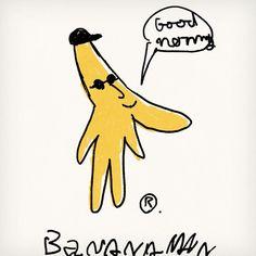 Bananaman バナナマン 何も考えずにペンを走らせると 時々すごいものが生まれる... #bananaman #artist #popart #instaart #sketch #instagood #character #banana #seijimatsumoto #松本誠次 #art #artwork #draw #drawing #illustration #illust #illustrator #design #graphic #pen #イラスト #アート #絵 #デザイン #バナナ #バナナマン