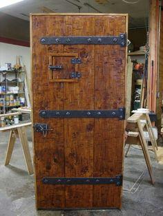 Medieval Door Projec - November 08 2018 at Rustic Doors, Wooden Doors, Reclaimed Wood Door, Medieval Door, Cool Doors, House Doors, Windows And Doors, Front Doors, Entry Doors