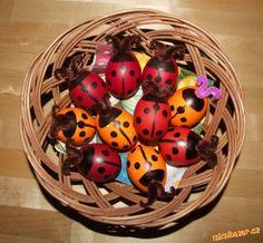 velikonoční berušky - vajíčka
