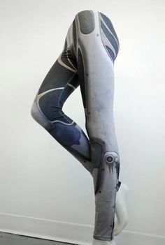 Show some love to your favorite android mechanic, Cinder from the Lunar Chronicles, with these robot leggings that make you look like you could be her equally awesome sister.Vostok Leggings - Printed Armour and Metal Tights - Sci Fi, $69.57, Etsy.com #WANT