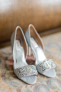 Glam shoes: http://www.stylemepretty.com/connecticut-weddings/guilford/2015/04/03/elegant-waterfront-wedding-at-the-guilford-yacht-club/   Photography: Leila Brewster - http://www.leilabrewsterphotography.com/