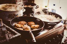 Preparing dinner - null