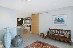 Contemporary foyer by Johnson & Associates Interior Design
