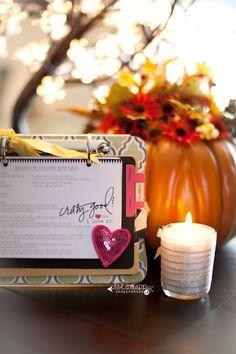 from my home, my heart & my family to you. « Heidi Swapp #LindsayBateman #MemoryDisplay