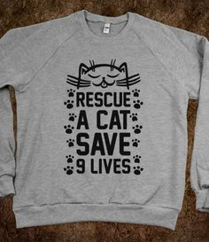 RESCUE A CAT SAVE 9 LIVES