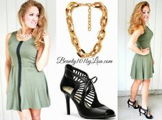 What to Wear with Olive Green - See more ideas here: http://www.beauty101bylisa.com/2014/07/what-to-wear-with-olive-green.html #beauty101bylisa