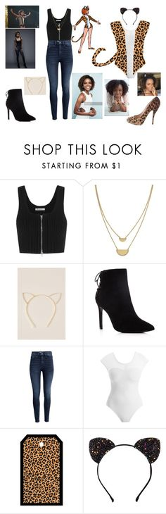 """""""Comic to Show Collection: Riverdale- Josie McCoy"""" by kristwd ❤ liked on Polyvore featuring T By Alexander Wang, Cole Haan, Francesca's, Charles David, H&M, Josie and Christian Louboutin"""