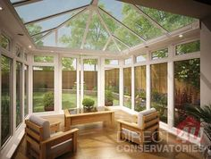 Internal View of Capella Orangery System