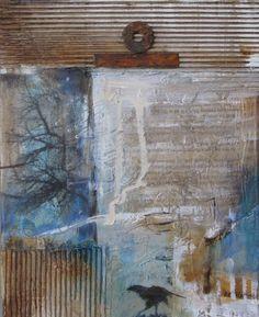 """Mixed Media - """"New Day Beginning"""" ,Joan Fullerton"""